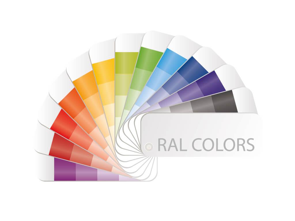 Дополнительные цвета по RAL
