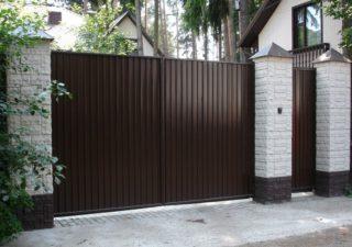 Вся правда об уличных воротах