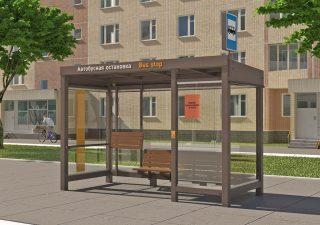 Остановочный павильон «Городской стандарт»